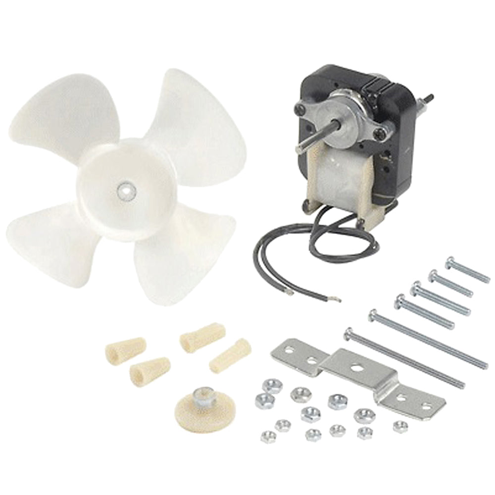 Universal AC Cooling Fan Kit for Battery Chargers - Includes Motor, Fan Blade & Mounting Hardware Replaces Associated Eqpt 610190