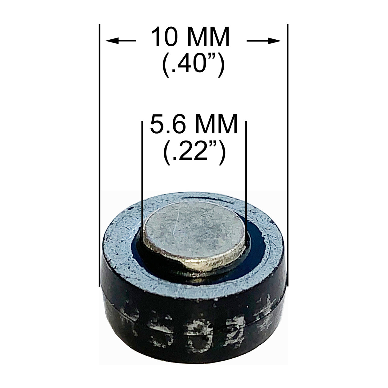 "Button Diode, 10MM (.40"") 50 Amp, 400 PRV Solderable Tin-Plated Contacts"