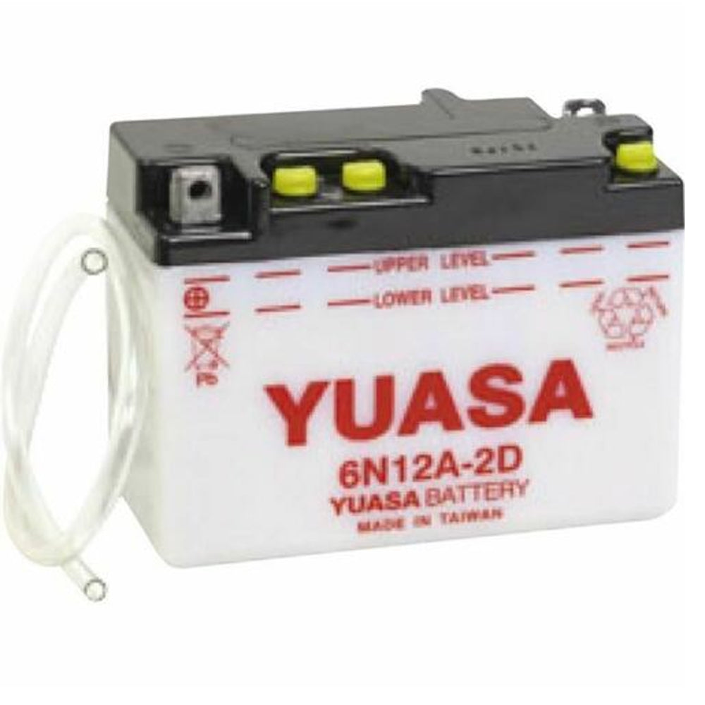 6N12A-2D Conv 6V MC Battery, Dry Charged 12 AH, M2612D