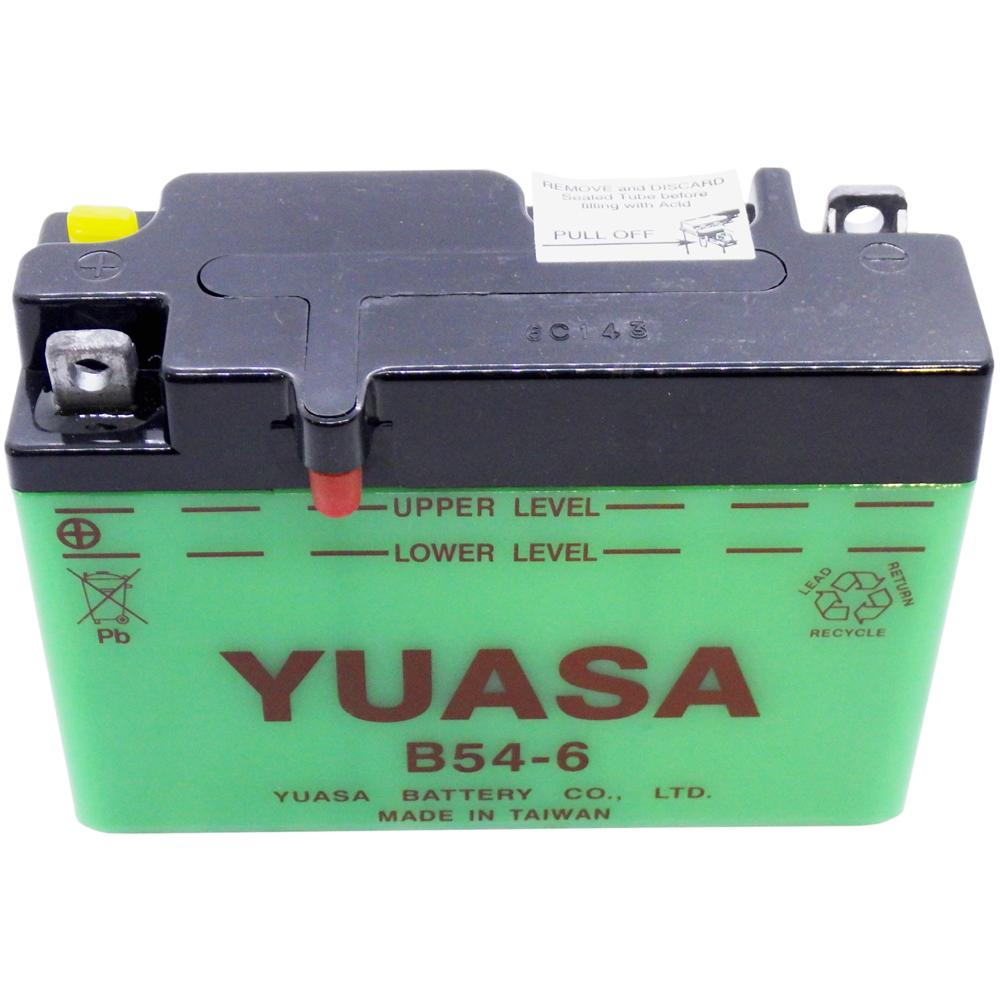 B54-6 Conv 6V MC Battery, Dry Charged 12 AH, N/A CCA  M2612J