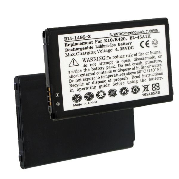 Cell Phone Battery - LG BL-45A1H 3.8V 2000mAh LI-ION BATTERY  / BLI-1495-2 / CEL-K10