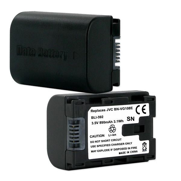 Digital Battery - JVC BN-VG108E 3.5V 890MAH  / BLI-392 / CAM-BNVG107