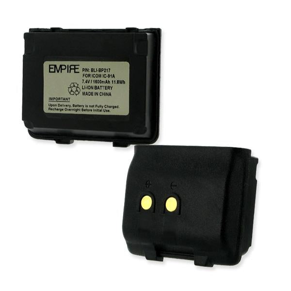 Two-Way Radio Battery - ICOM BP217 7.4V 1600MAH