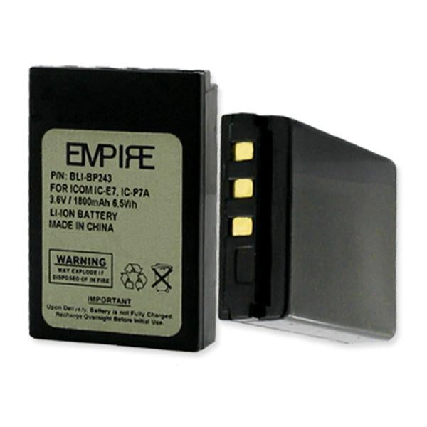 Two-Way Radio Battery - ICOM BP243 3.7V 1800MAH