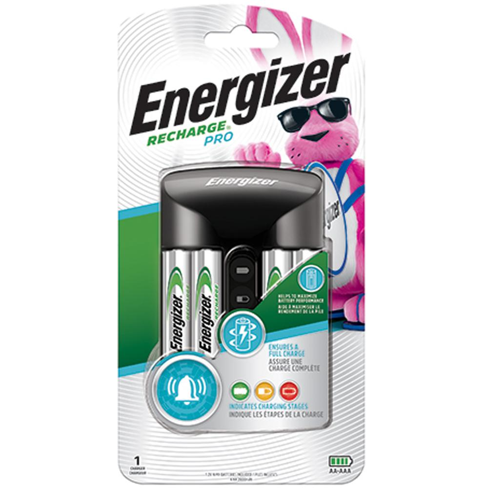 Energizer Pro Charger for NiMH/NiCD Batteries - AA, AAA