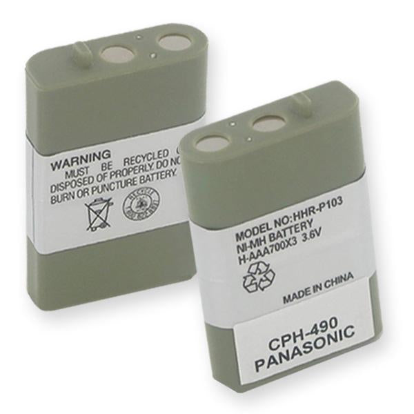 Cordless Phone Battery - PANASONIC HHR-P103 NiMH 700mAh  / CPH-490 / BATT-103