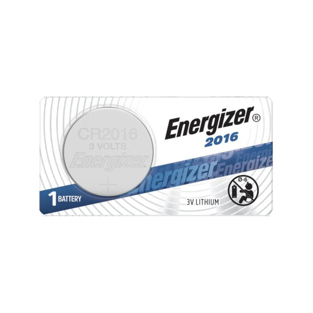 Energizer 2016 Lithium Coin Cell, 3V - ea (5 per strip)