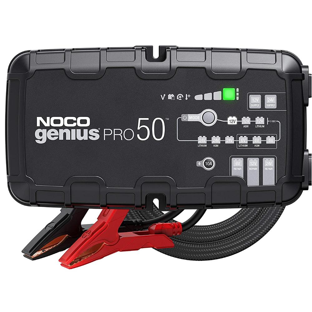 NOCO GENIUSPRO50 6/12/24V 50A Battery Charger & Maintainer