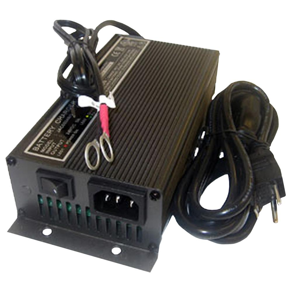 Schauer 12V 12A Fully Automatic Electronic Charger / Float Standby - 115VAC - Ring Terminals
