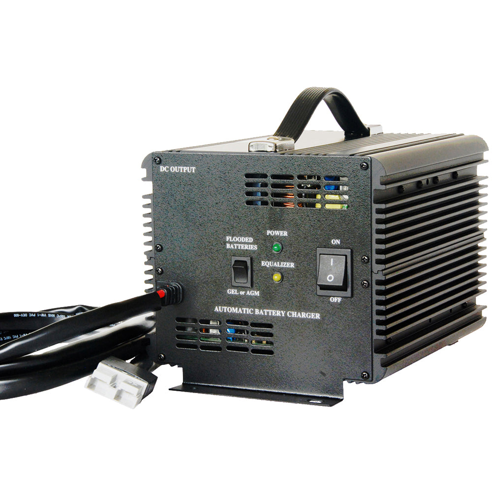 Schauer 48V 15A Fully Automatic Electronic Charger / Float Standby - Auto-Sensing 120/240VAC - Choice of DC Plug