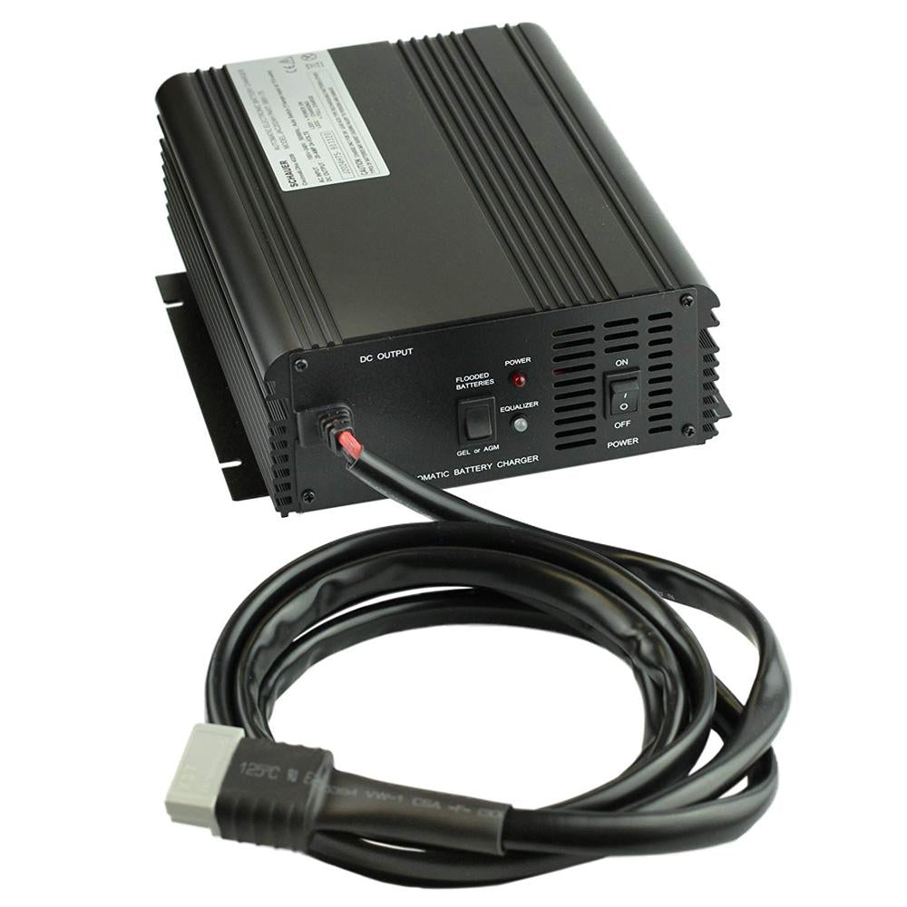 Schauer 24V 20A Fully Automatic Electronic Charger / Float Standby / POWER SUPPLY - Auto-Sensing 115/230VAC - Aircraft and Industrial Connector Options