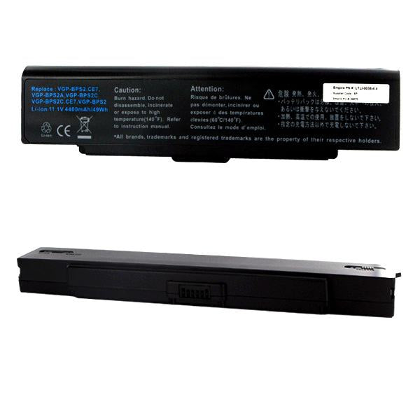 Laptop Battery - SONY 11.1V 4400mAh Li-ION  / LTLI-9038-4.4 / DQ-BPS2/S-6