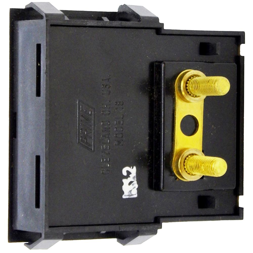 Amp Meter 0-60A w/Boost Snap-In Vertical Mount for Century/Solar Battery Chargers<br>PR18HV-60B
