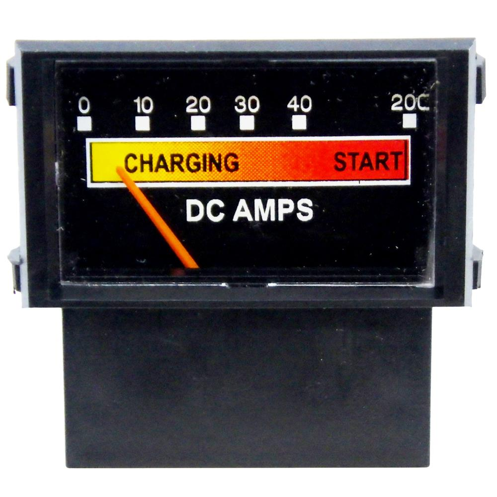 Amp Meter 0-40A w/Boost Snap-In w/Inductive Pick-Up for Associated/Schumacher Battery Chargers<br>PR18N-40B