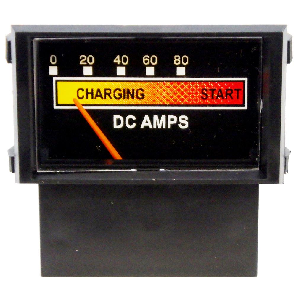 Amp Meter 0-80A w/Boost Snap-In w/Inductive Pick-Up for Battery Chargers<br>PR18N-80B