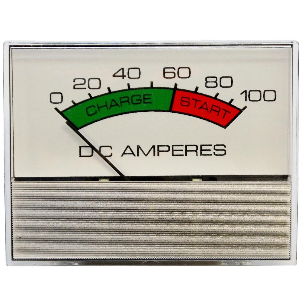 Amp Meter 0-100A w/Boost Snap-In w/Inductive Pick-Up for Battery Chargers