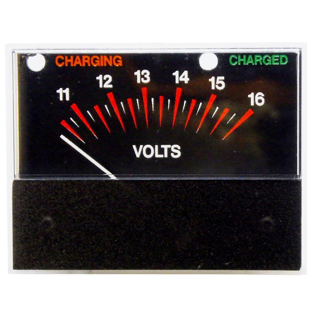 Volt Meter 5-16V DC Snap-In for Battery Chargers & Testers<br>PR21S-5-16DV