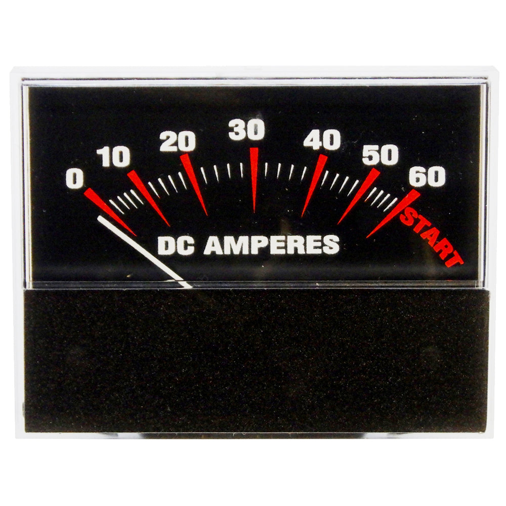 Amp Meter 0-60A w/Boost Snap-In w/Inductive Pick-Up for Battery Chargers<br>PR21S-60B