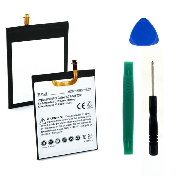Tablet Battery - SAMSUNG GALAXY TAB A 7.0 3.8V 4000mAh LI-POL BATTERY (T)  / TLP-051 / PRB-49