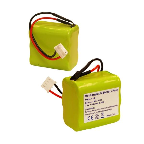 Vacuum Battery - I-ROBOT MINT 4200 7.2V 1200MAH