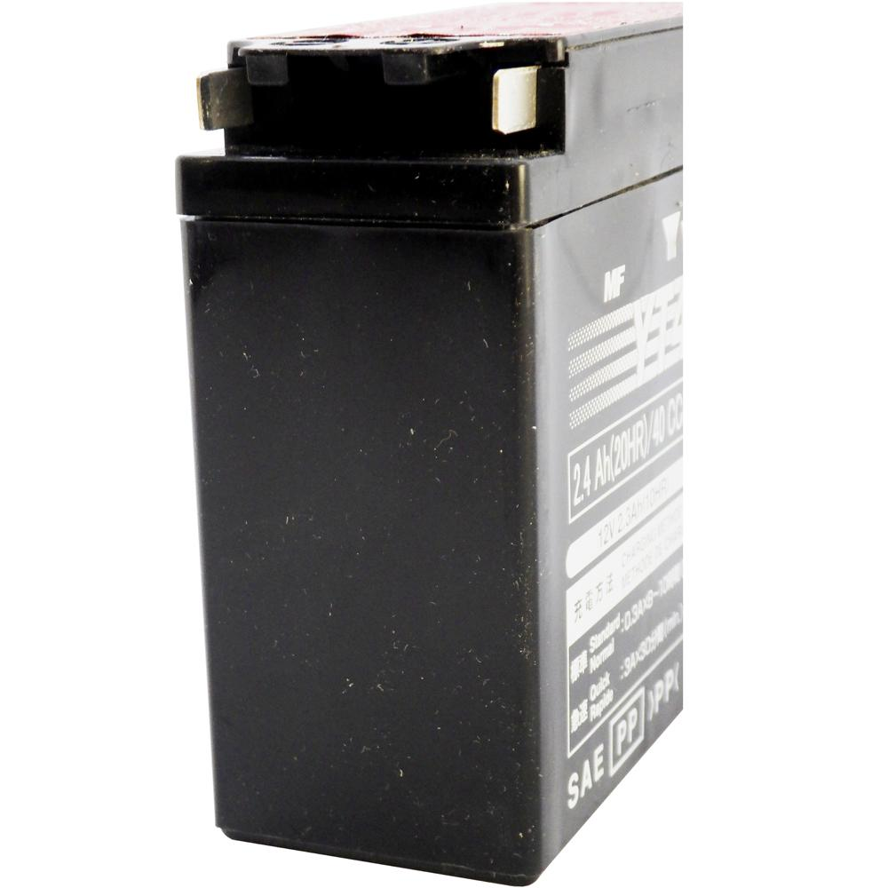 YT4B-BS 12V AGM MC Battery, Dry Charged w/Acid Pack 2.3 AH, 40 CCA  M62T4B