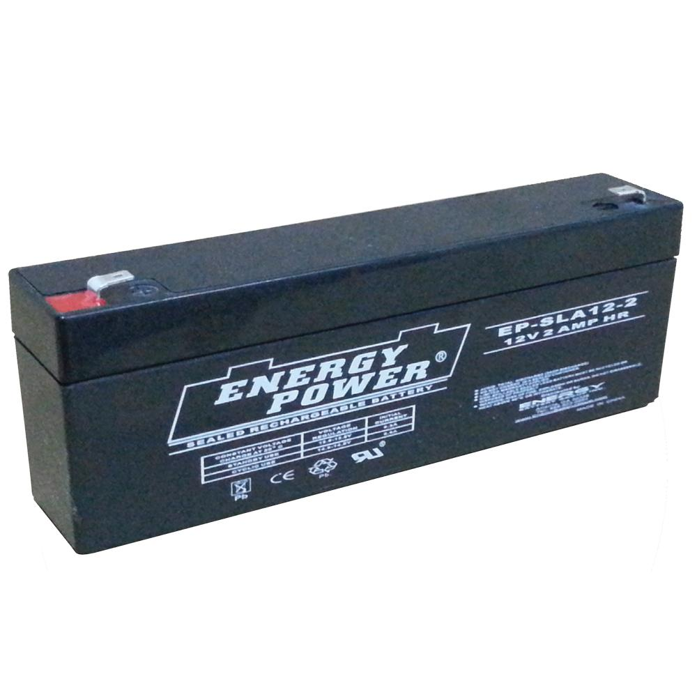 Energy Power 12V, 2.2AH SLA AGM Battery - T1 (Replaced by EP-SLA12-2.2)