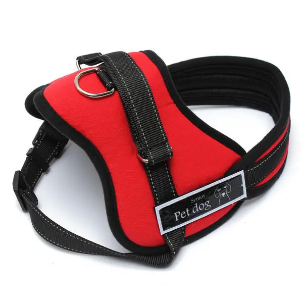 Adjustable No Pull Dog Harness Vest for Sport Walking your Dog in Small Medium Large and 4 Colours