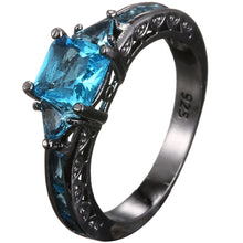Load image into Gallery viewer, AMORUI Healing Crystal Stone Ring