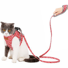 Load image into Gallery viewer, Reflective Cat Harness And Leash Set