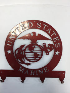 US Marine Corps Key Rack