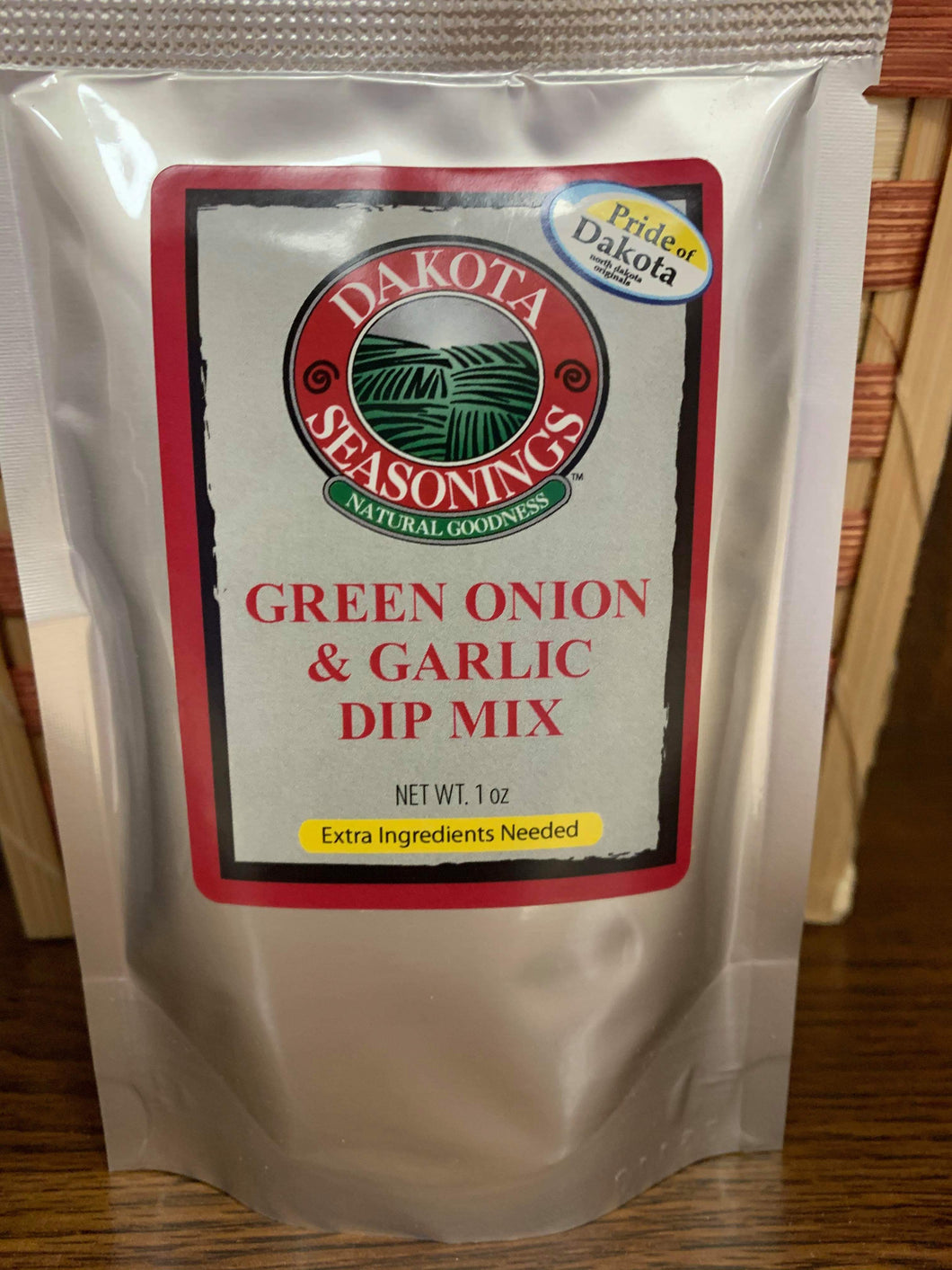Dakota Seasonings Green Onion & Garlic Dip Mix