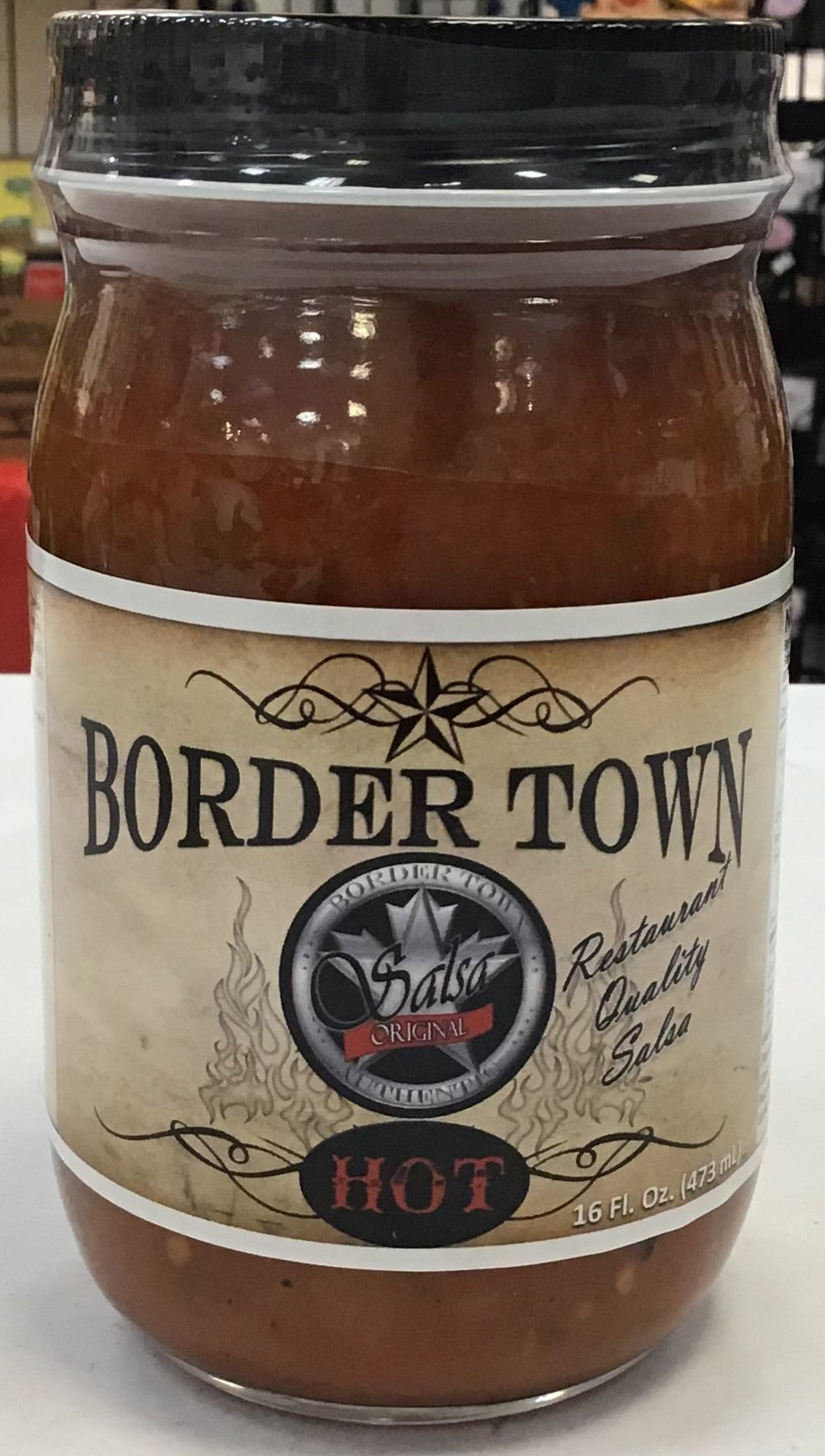 Border Town Salsa Hot
