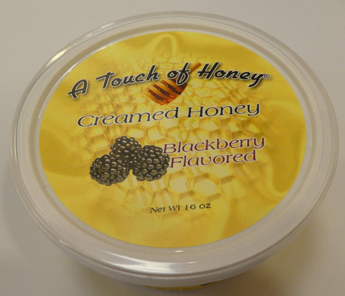 A Touch of Honey Blackberry Flavored Creamed Honey