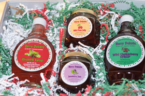 Berry Dakota Jelly and Syrup Gift Basket