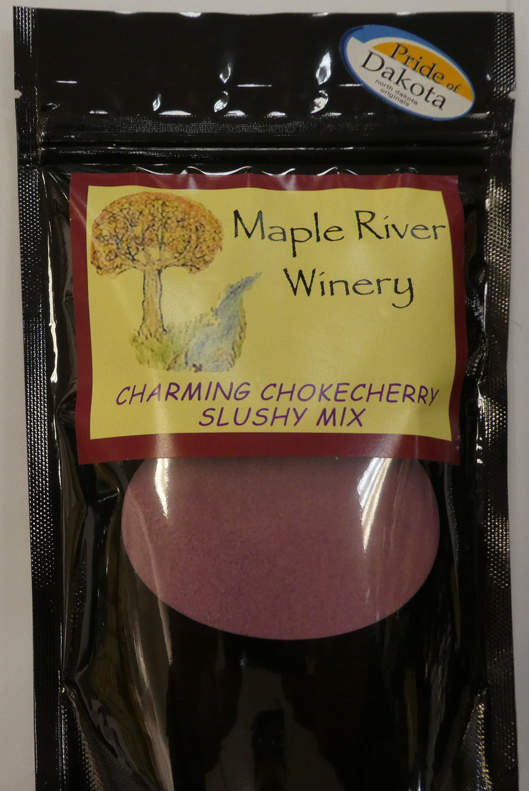 Charming Chokecherry Wine Slushy Mix and Slushy Pie Mix