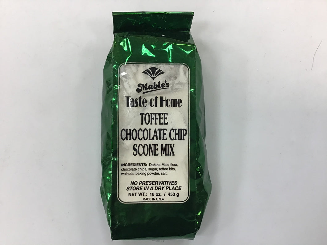 Toffee Chocolate Chip Scone Mix