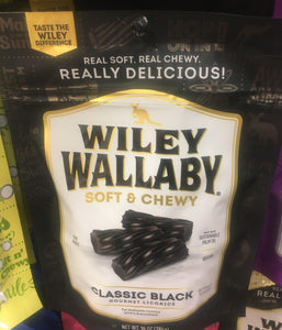 Wiley Wallaby Black Licorice