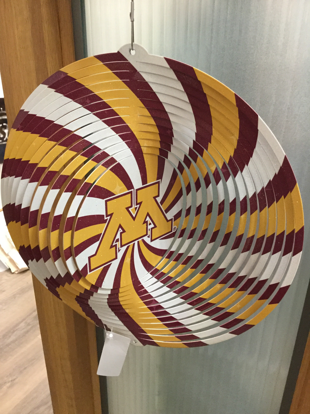 University of Minnesota Golden Gophers TriColor Metal Spinner