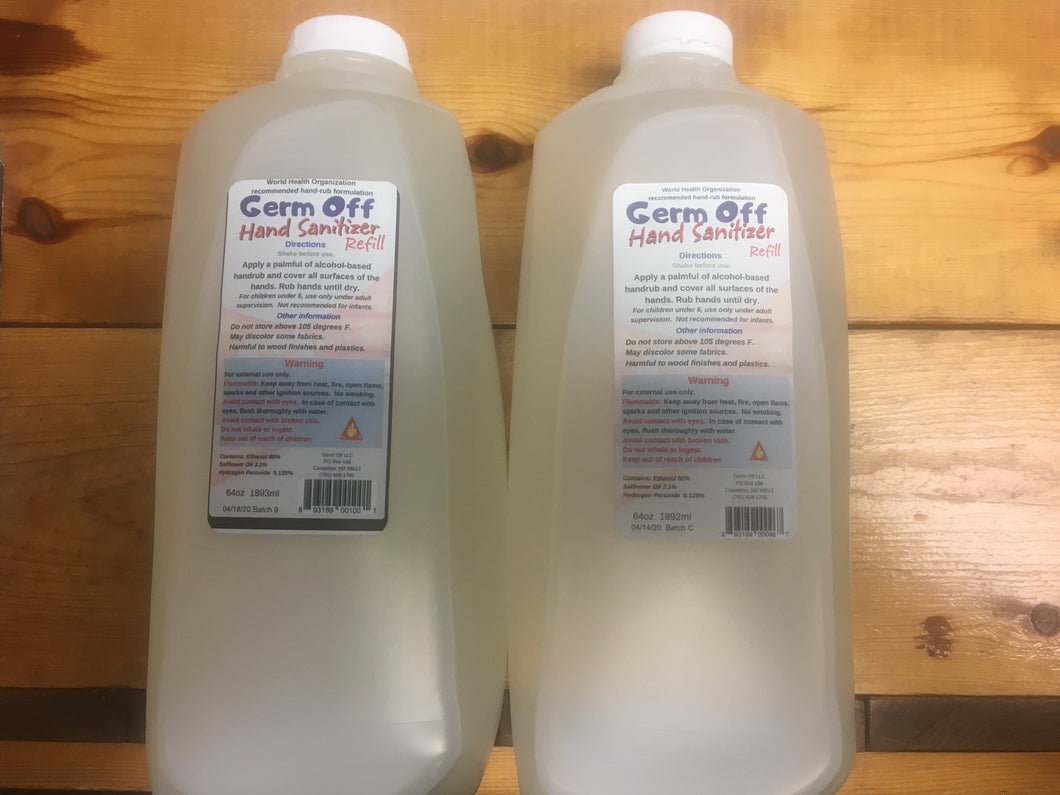 A Pair of Hand Sanitizer Half Gallons IN STOCK--SHIPPING DAILY