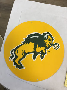 "North Dakota State University 12"" Round"