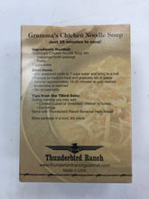 Load image into Gallery viewer, Thunderbird Ranch Chicken Noodle Soup