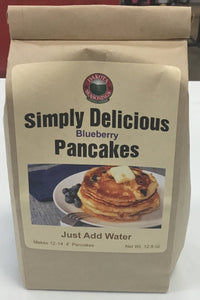 Amberland Foods Simply Delicious Blueberry Pancake Mix