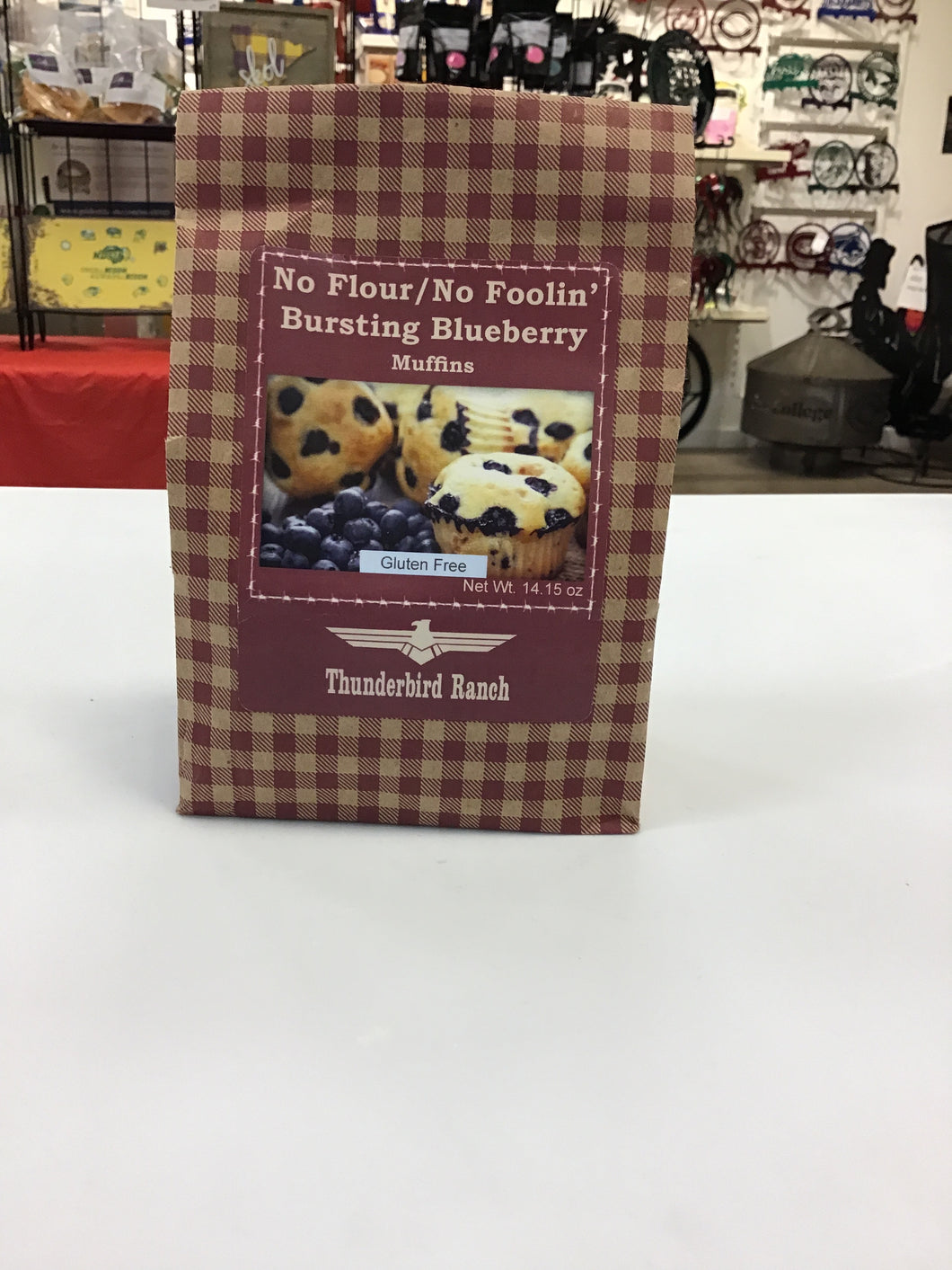 Thunderbird Ranch No Flour Blueberry Muffins