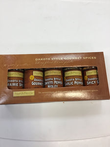 North Prairie Signature 5 pack of spices Gift Pack