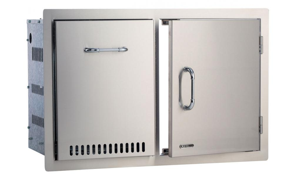 Bull Door/Propane Drawer Combo