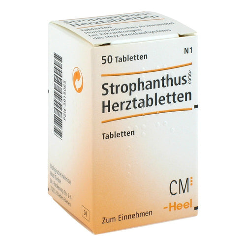 Strophanthus Compositum 50 Tablets-Urenus