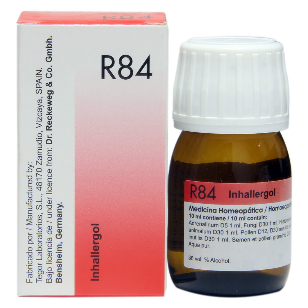 R84 Tegor Bio 84 Inhalent Allergy Drops 30ml-Urenus