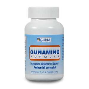 GUNAMINO FORMULA Pack: 150 tablets of 1.4 Grams-Urenus