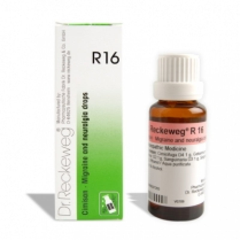 R16 Migraine and Headache Drops 50ml-Urenus