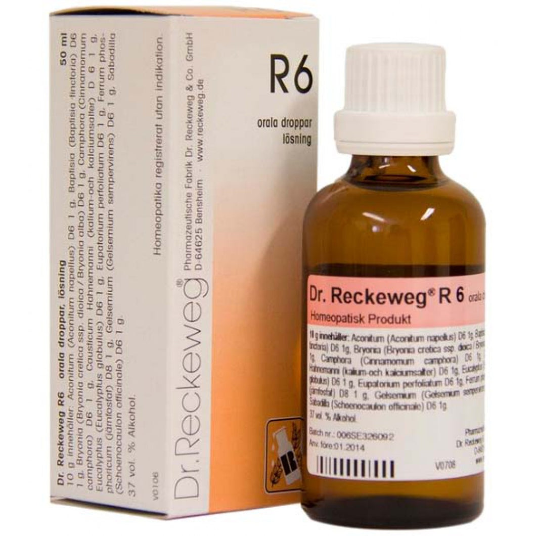 R6 Influenza Drops 50ml-Urenus